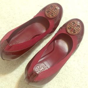 Tory Burch Wedges Size 7 Like New